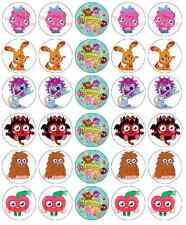 Moshi Monster Cupcake Toppers Edible Wafer Paper BUY 2 GET 3RD FREE!