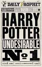 "Harry Potter - The Daily Prophet  Undesirable No1 - Poster  11"" X 17"""