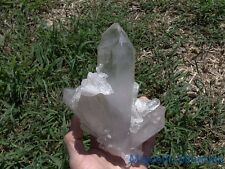 VIDEO___MANIFESTATION'S__ HIGH END DISPLAY__HUGE Arkansas Quartz Crystal Cluster