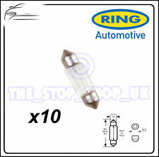 TRADE PACK of 10 Ring 12v 10W Festoon R269