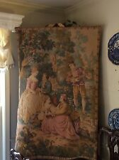 Gorgeous French Tapestry 57x37 !