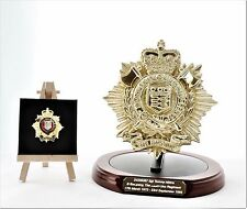 Royal Logistic Corps: Presentation-Gift Set – Round Base (Engraving included)