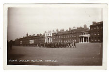 Church Parade - Woolwich Real Photo Postcard c1910