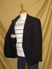 100% WOOL mens DESIGNER casual / formal MAGEE blazer BLUE suit Jacket 41R 41 R
