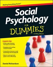Social Psychology For Dummies(R) (Paperback), Richardson, Daniel, 9781118770542