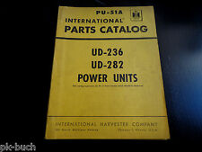 Parts Catalog / Teilekatalog International Harvester UD-236 + UD-282 Power Units
