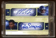 05 EXQUISITE QUAD AUTO #D /10 GALE SAYERS-MIKE SINGLETARY-BENSON-ORTON RC  BEARS