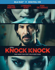 Knock Knock 2015 Blu-ray Disc No Digital Download Keanu Reeves