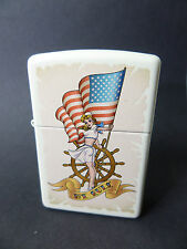 "Zippo  ""NAUTICAL  WITH  FLAG  PIN UP""  -  NEU & ovp - #1252"
