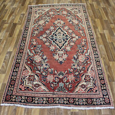 PERSIAN TRADITIONAL ANTIQUE Wool  4.2 X 6.10  ORIENTAL RUG HANDMADE CARPET RUGS