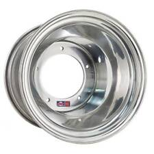 "DWT Polished Aluminum VW Rear Wheel 15x10"" 12mm 2+8 Dune Buggy Sandrail"