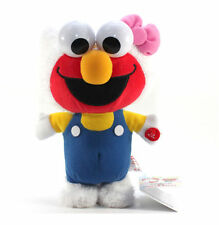 "New Hello Kitty x Sesame Street 9"" Kitty Elmo Walking Plush Doll Toy by Furyu!"