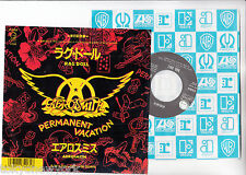 "AEROSMITH 7"" PS Japan RAG DOLL promo s6270"