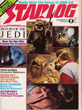 Auswahl aus US Starlog Nrn.74,91,105,126,127,129,132,136,137-140 Star Wars,Trek