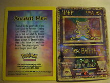 POKEMON PROMO - ANCIENT MEW CARD - US VERSION (HOLOFOIL) - (SEALED)