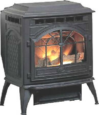 VINTAGE CAST IRON CORN WOOD PELLET STOVE FURNACE, ANTIQUE Frame Replca (NEW)