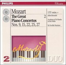Mozart: Great Piano Concertos, Vol. 2 (CD, Dec-1994, 2 Discs, Philips)