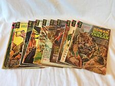 Gold Key Comics 1968-1971, Lot of 11 #s 21-44 Korak, Son of Tarzan