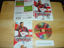 FIFA SOCCER 09 ALL-PLAY game complete w/ Manual for Nintendo Wii system