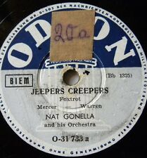 1131/ NAT GONELLA- Tiger Rag-Jeepers Creepers-Tanzorchester-KLASSE-Schellack
