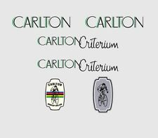Carlton Criterium Bicycle Decals, Transfers, Stickers n.2