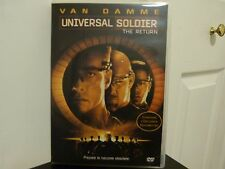 Universal Soldier: The Return (DVD, 1999, Closed Captioned) Van Damme