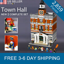 Town Hall Compatible with LEGO 10224 Modular Building Creator City Set