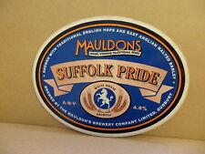 Mauldons Suffolk Pride Ale Beer Pump Clip 2