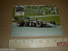 Mike Hiss USAC #6 Thermo King  Eagle Offy Gerhardt Team racing postcard handout