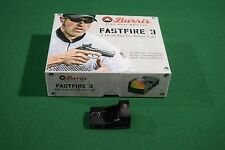 Burris FastFire 3MOA Red Dot Reflex Sight Tactical Mount Pistol Rifle Shotgun NR