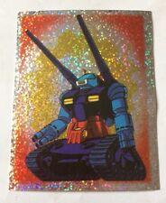 MOBILE SUIT GUNDAM figurina speciale lettera B poster centrale Album PANINI RARA