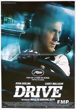 DRIVE - RYAN GOSLING / WINDING REFN - CAR - ORIGINAL SMALL FRENCH MOVIE POSTER