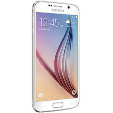 Samsung Galaxy S6 SM-G920A - 32GB - White Pearl (AT&T) Smartphone (B) unlocked