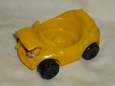 Fisher Price Little People Yellow Garage CAR Lift Hood