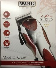 WAHL PROFESSIONAL 5 STAR  MAGIC CLIP HAIR CLIPPER ORIGINAL UK SELLER