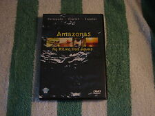 Amazonas - No Ritmo Das Aguas (DVD, 2002) Portugues, English, Espanol