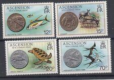 Ascension Island 1984 Emissione nuove monete MNH