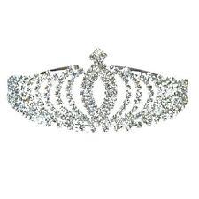 Diadem Brautbrautjungfern Leuchtender Strass Kronen Stirnband Tiara Hochzeit ET