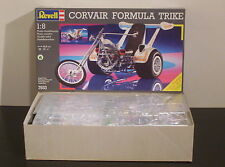 REVELL GERMANY 1/8 CORVAIR FORMULA TRIKE  UNBUILT & COMPLETE IN BAGS!!