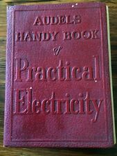 AUDELS HANDY BOOK Of PRACTICAL ELECTRICITY 1942 Graham Illus Electrical leather