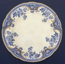 """Vintage Blue White Wedgwood Livingstone Made In England Decorative 10"""" Plate*"""