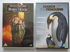 2 DVD Offer: Robin Hood Prince of Thieves & March of The Penguins.