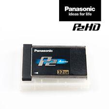Panasonic Card AJ-P2C032AG | 32 GB P2-Speicher-Karte Black A-Series | MwSt.-Rng.