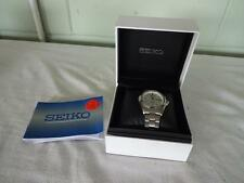 Seiko Kinetic WATER RESIST 50m-Orologio da polso Seiko 5m63-0ac8 HR 2-Boxed