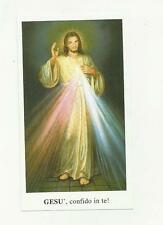 97116  santino holy card gesu' CONFIDO IN TE