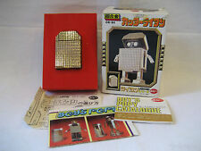 Popy Gold Lightan Cutter diecast metal toy ROBOT vintage chogokin MIB GB-84 +BOX