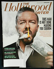 THE HOLLYWOOD REPORTER MAGAZINE RICKY GERVAIS  DOUBLE ISSUE