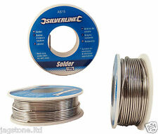 100g 0.8mm 60/40 Tin lead Solder Wire Rosin Core Soldering 2% Flux Reel Tube
