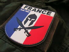 Patch Velcro PVC GOMME 3D - France Spartan OPEX - Snake patch COS Airsoft Police