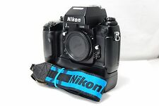 Nikon F4 E F4E 35mm SLR Film Camera Body Only  SN2585891  **Excellent+**